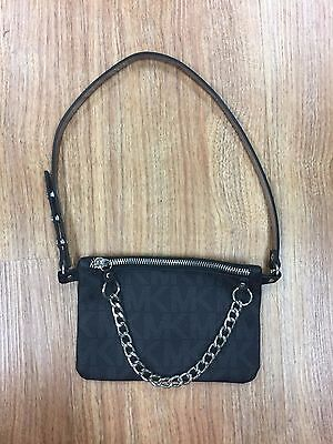 Michael Kors Logo Leather Fanny Pack - Size S