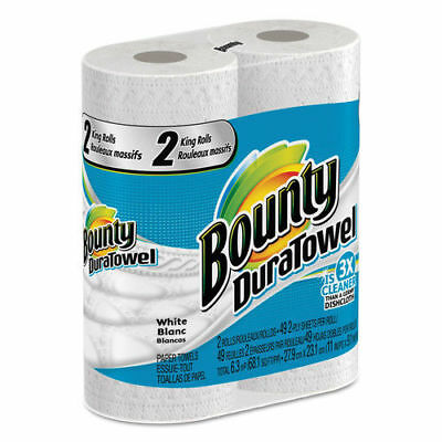 P&G Professional Duratowel Paper Towels, 2-Ply, 11 X 11, 49/roll, 24 Roll/carton