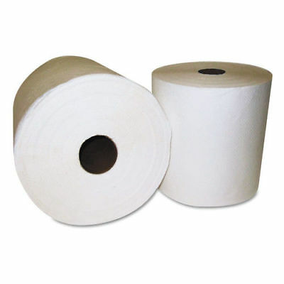 GEN 1920 White Roll Hardwound Towel, 800 ft. One-Ply Household Supply New
