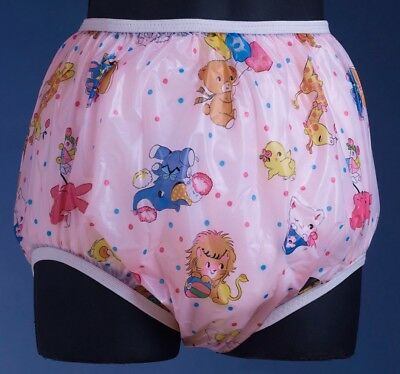 ACMedical Vinyl PVC Plastic Adult Baby AB ABDL Diaper Pants Panties Nappy LARGE
