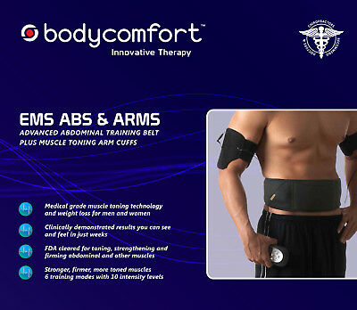 Body Comfort Muscle Stimulator - Abs, and Arms, Original, New, 3-year Warranty