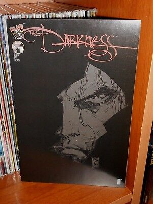 The Darkness N.1 Black Variant Cover A - Image,top Cow Comics - Ennis, Silvestri
