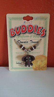 """Buddies Brand Collectible Elephant """"Donald Trunk"""" Necklace"""