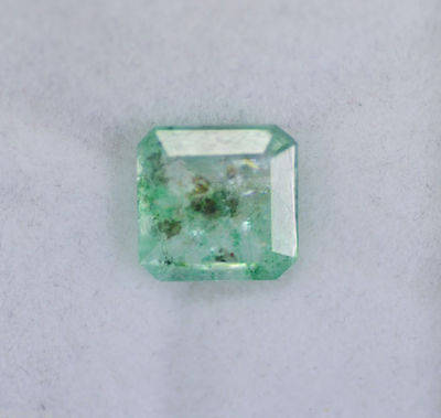 Fantastic 2.30 Ct Emerald Shape EGL Certified Green Emerald Loose Gemstone