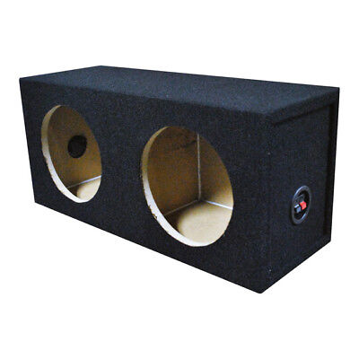 QPOWER SOLO82HOLE Qpower Dual 8 Sealed Woofer Box