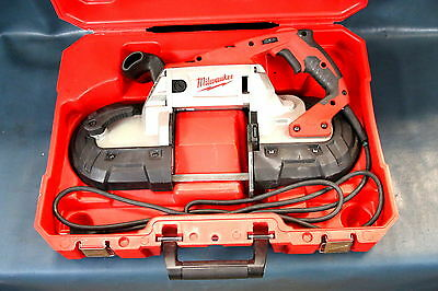 Milwaukee 6232-20 Deep Cut Variable Speed Corded Band Saw Kit with Hard Case