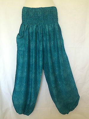 Ladies Harem Boho Pants Summer Plus Size 16 18 20 Also Maternity BNIP [PS-LBY]