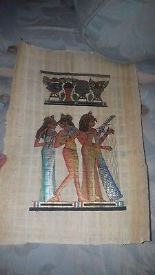 iRSE Art Egyptian Genuine Papyrus, Ancient Egypt paper, hand made wall paper,...