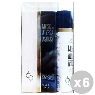 ALYSSA ASHLEY Set 6 Geschenk-Box Moschus edt 50 ml + 75 ml deo.
