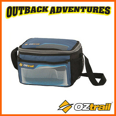 Oztrail 6/9 Can Stowaway Collapsible Cooler Picnic Camping Bag Blue