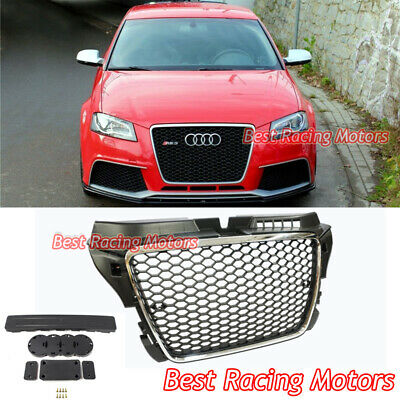 audi a3 s3 8p original grille s line front radiator grill. Black Bedroom Furniture Sets. Home Design Ideas
