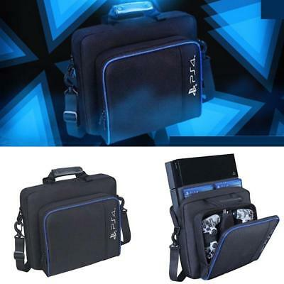 Multifunctional PS4 Outdoor Travel Carry Shockproof Protective Bag Black Hot