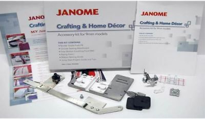 Janome Crafting and Home Decor Accessory kit for 9mm machine