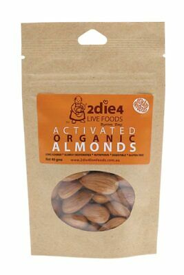 Activated Organic Almonds 40g - 2DIE4 Live Foods