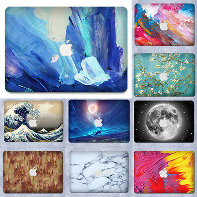 """Marble Painting Laptop Lid Soft Case Cover Sticker For Macbook Air Pro 11""""13""""15"""""""