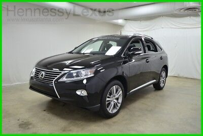 2015 Lexus RX 4DR FWD 2015 4DR FWD Used Certified 3.5L V6 24V Automatic FWD SUV