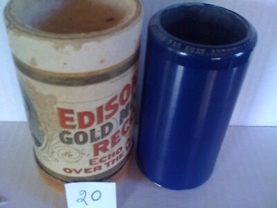 EDISON AMBEROLCYLINDEr..ON THE BANDS of THE WABASH FAR AWAY.