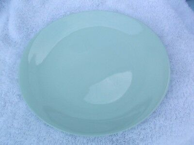Vintage Collectable Johnson Bros England Oval Dinner Plate Green Cloud Design