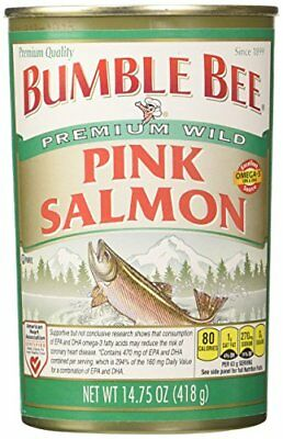 Bumble Bee Salmon Pink Canned 14.75-Ounce Cans Pack of 4