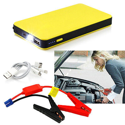 Jump Portable Car Starter Battery Charger Power Booster Bank 12v Auto Emergency