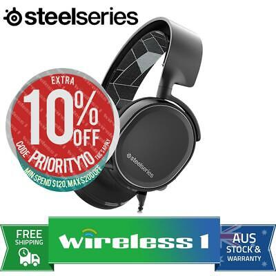 SteelSeries Arctis 3 7.1 Gaming Headset Black