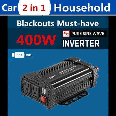 1000W DC 12V to AC 110V Car Power Inverter Electronic Charger Converter O7