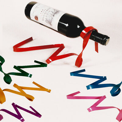 1Pc Suspension Stand Hot Novelty Iron Bottle Holder Suspended Ribbon Wine Rack