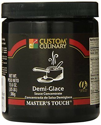 Custom Culinary Master's Touh  Concentrate Demi Glace Sauce 13.6 Ounce