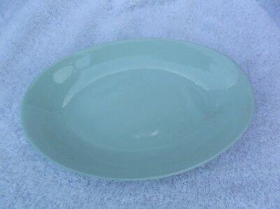 Vintage Collectable Johnson Bros England Dish Green Cloud Design