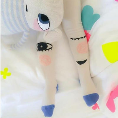 UK STOCK Kids Girls Cute Cartoon Cotton Pantyhose Tights Socks Stockings Hosiery