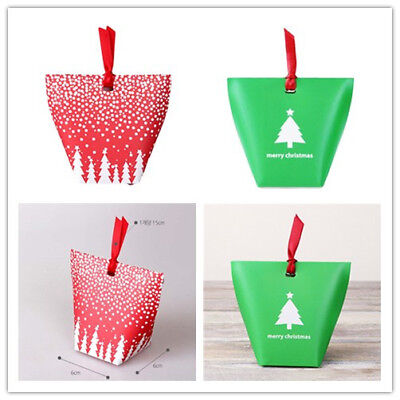 10X Multi Christmas Halloween Wedding Favour Gift Sweets Party Paper Bags Boxes
