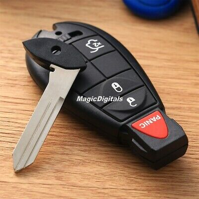 4BT Replace Remote Key Fob Keyless Entry Remote Transmitter F Jeep Command 08-10
