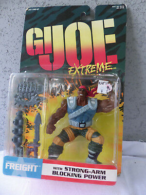 "Kenner  GI Joe Extreme "" Freight "" Action Figure 1995 - MOC - NOS"