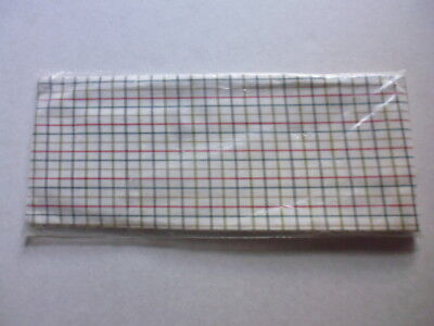 Racesafe Tattersall Cotton Hunting Stocks Self Tie red/green/brown check