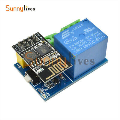 ESP8266 ESP-01S 5V Wifi Relay Module TOI APP Controled For Smart Home