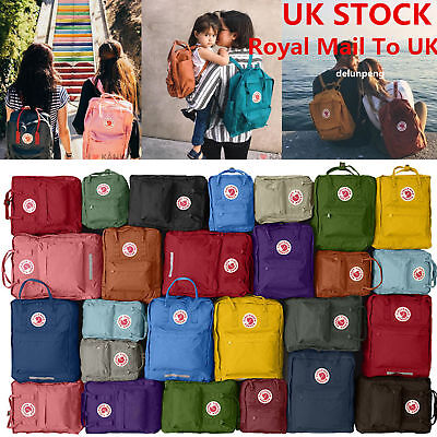 NEW!Unisex FJALLRAVEN KANKEN Classic Travel backpack School Laptop Shoulder Bag