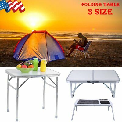 Aluminum Folding Table Indoor Outdoor Picnic Party Dining Table Portable US-ship