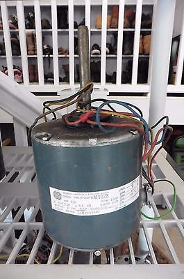 GE Motor 5KCP39PG M922S 1/2 HP 1060 RPM 208-230V 2.6 A thermally protected