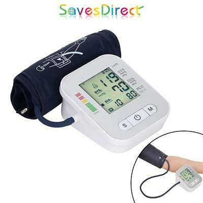 Sleek White Digital Automatic Blood pressure Monitor Free Uk Mainland Delivery