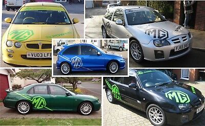 MG ZR ZT ZS full graphics set decals stickers graphics rally xpower touring car