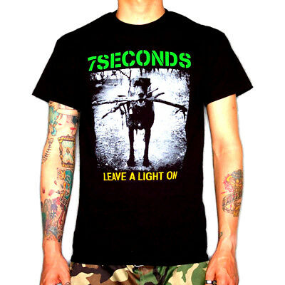7 SECONDS Shirt S,M,L,XL Minor Threat/Dag Nasty/H2O/Gorilla Biscuits/Insted/SXE