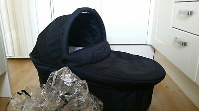 iCANDY CHERRY CARRYCOT with rain cover and extra mattress