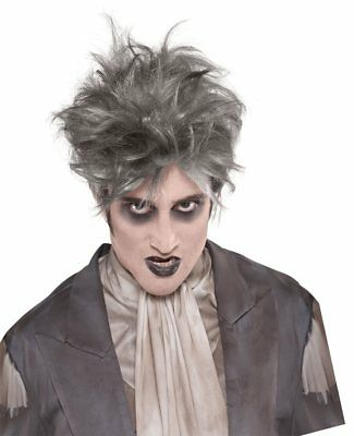 FANCY DRESS Adult – Halloween – Zombie From The Crypt Wig