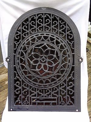 Antique Heat Cooling Vent Victorian Grate Fireplace Grate