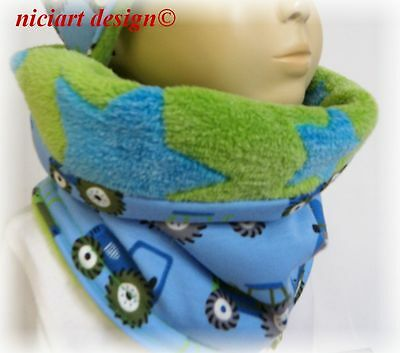 Niciart Design ♥ Neu ♥ Winter Loop Schal ♥ Trecker ♥ Jungen ♥ Tube