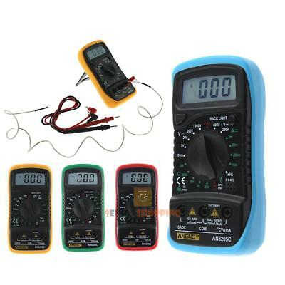 AN8205C Digital Multimeter Voltmeter Ammeter AC DC OHM Volt Temperature Meter