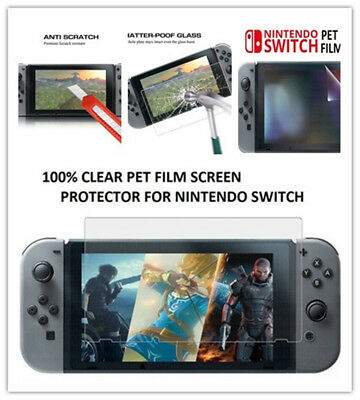 Hot for Nintendo Tempered Screen ANTI Bubbles for Nintendo Switch 0.3mm