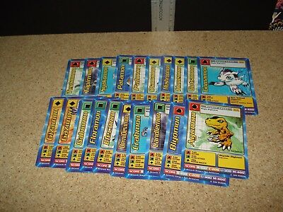 20 Digimon Rookie card lot - Will combine shipping-A