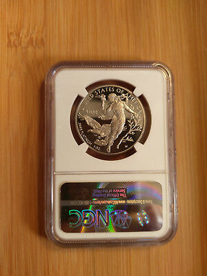 2016-W $100 1-Oz Platinum Proof, PF70UC, First Release, Upgraded NGC Holder