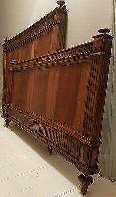 Stunning Classic Antique French Double Bed Frame Bedroom Vintage Henri 11 Style